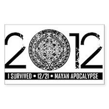 2012 - Myan Apocalypse Decal