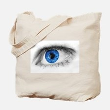 blue-eye art Tote Bag