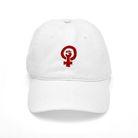 Red Feminist POWER! Cap