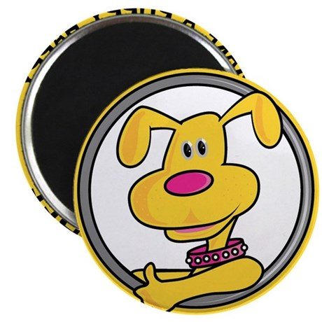 "Make a Puppy Happy 2.25"" Magnet (100 pack)"