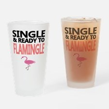 Single Ready to Flamingle Drinking Glass