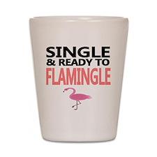 Single Ready to Flamingle Shot Glass