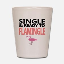 Single Ready to Flamingle Shot Glass