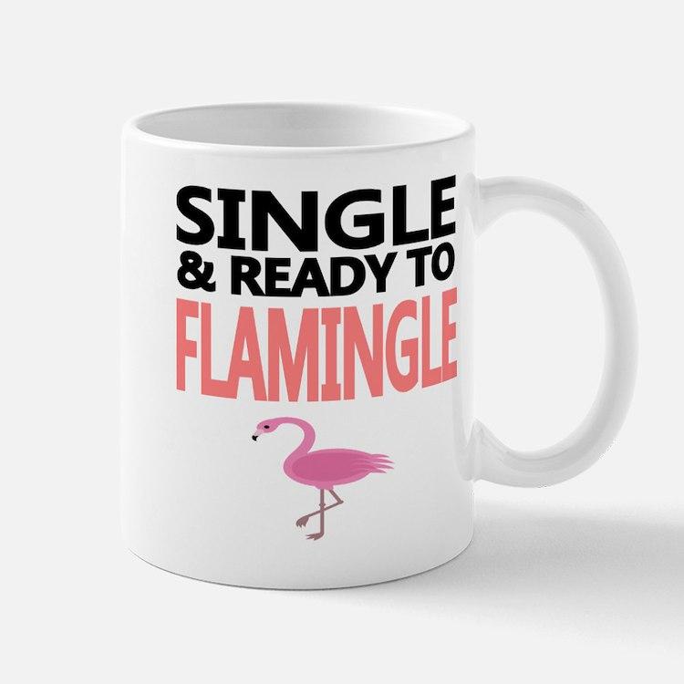Single Ready to Flamingle Mug
