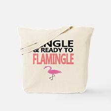 Single Ready to Flamingle Tote Bag