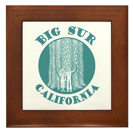 Big Sur Framed Tile