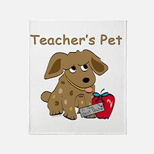 Teachers Pet Throw Blanket