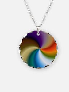 vivid-colored-spiral Necklace