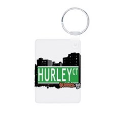 HURLEY COURT, QUEENS, NYC Keychains