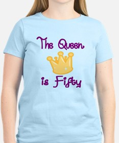 THE QUEEN IS FIFTY 4 T-Shirt