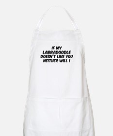 If my Labradoodle BBQ Apron