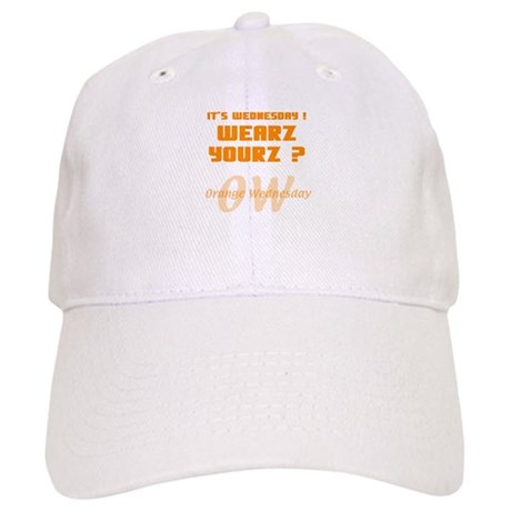 Orange Wednesday Cap