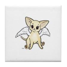 Smooth Puppy Angel Tile Coaster