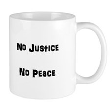 No Justice No Peace Mug