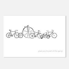 Bicycle Gang Postcards (Package of 8)