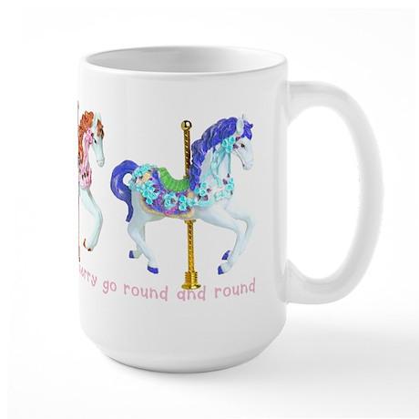 Merry-Go-Round Large Mug