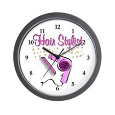 SUPER STAR STYLIST Wall Clock
