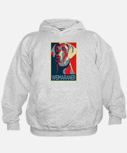The Regal Weimaraner Hoodie
