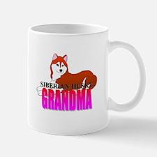 Copper Siberian Husky Grandma Mug