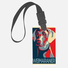 The Regal Weimaraner Luggage Tag