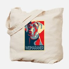 The Regal Weimaraner Tote Bag