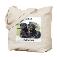 Custom Rottweiler Tote Bag