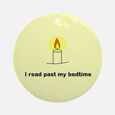 Read Past Bedtime Ornament (Round)