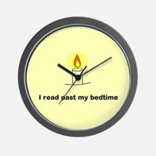 Read Past Bedtime Wall Clock