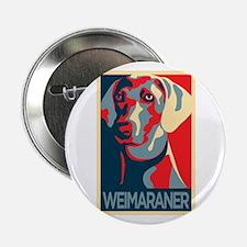 "The Regal Weimaraner 2.25"" Button"