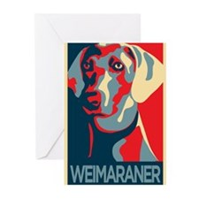 The Regal Weimaraner Greeting Cards (Pk of 10)