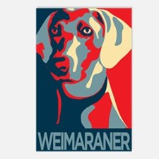 The Regal Weimaraner Postcards (Package of 8)