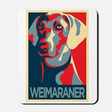 The Regal Weimaraner Mousepad