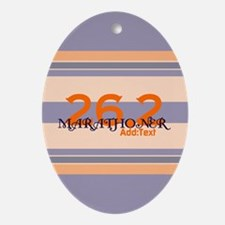 Marathoner Personal Best Ornament (Oval)