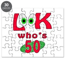 Look who's 50 ? Puzzle