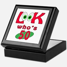 Look who's 50 ? Keepsake Box