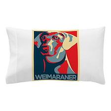 The Regal Weimaraner Pillow Case