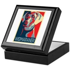 The Regal Weimaraner Keepsake Box