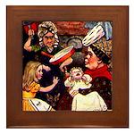 Kirk 5 Framed Tile