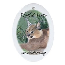 WCH Caracal Oval Ornament
