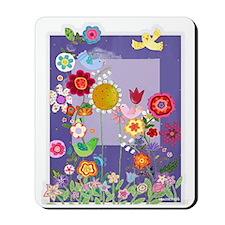 Shirley's Flowers Mousepad