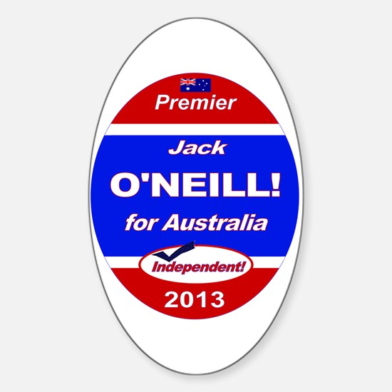 O'Neill for PM! Sticker (Oval)