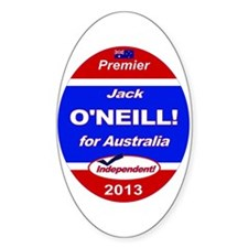 O'Neill for PM! Stickers