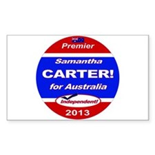 Carter for PM! Decal