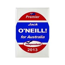 O'Neill for PM! Rectangle Magnet