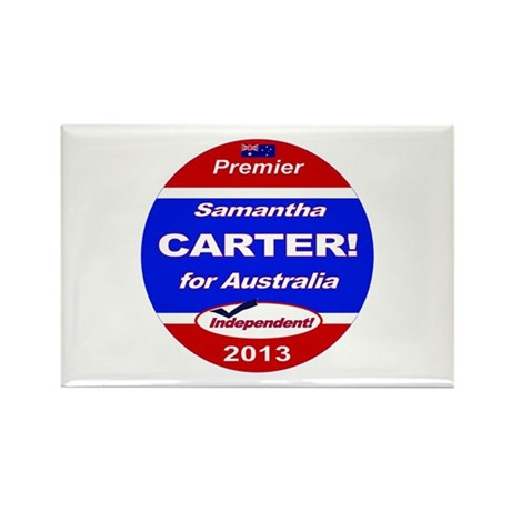 Carter for PM! Rectangle Magnet