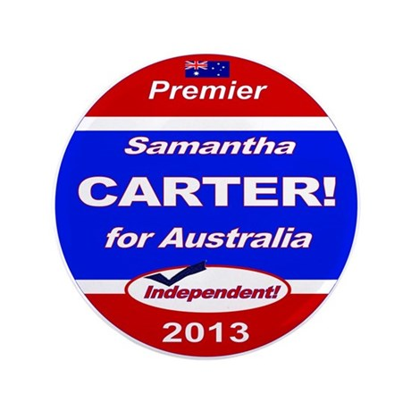 """Carter for PM! 3.5"""" Button"""