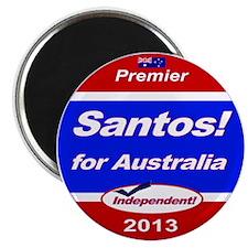 Santos for PM! Magnet