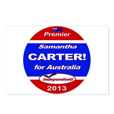 Carter for PM! Postcards (Package of 8)