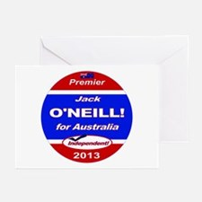 O'Neill for PM! Greeting Cards (Pk of 20)