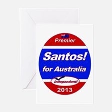 Santos for PM! Greeting Cards (Pk of 20)